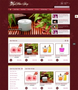 Website Spa Ngọc Hân depantoan.com
